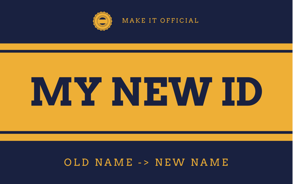 My new ID